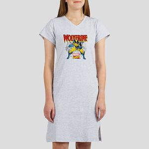 Wolverine Attack Women's Nightshirt