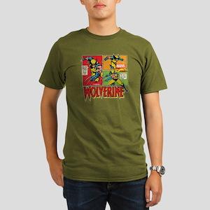 Wolverine Comic Organic Men's T-Shirt (dark)