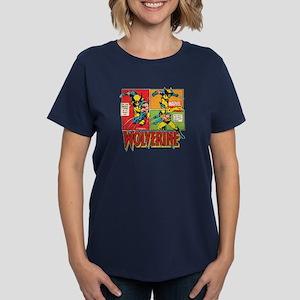 Wolverine Comic Women's Dark T-Shirt