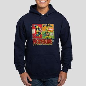 Wolverine Comic Hoodie (dark)