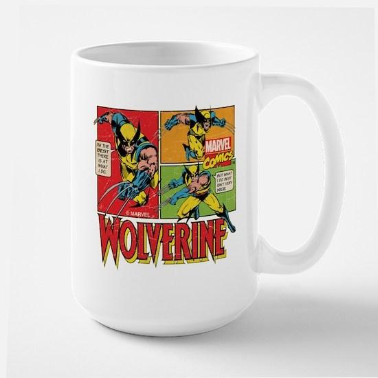 Wolverine Comic Large Mug
