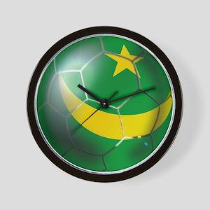 Mauritania Football Wall Clock