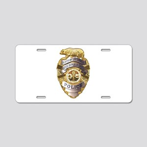 Los Angeles County Safety Police Aluminum License