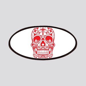 SugarSkull Red-01 Patches