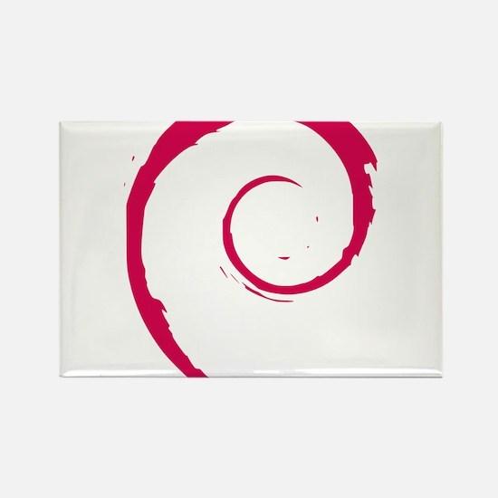 Debian Logo Magnets