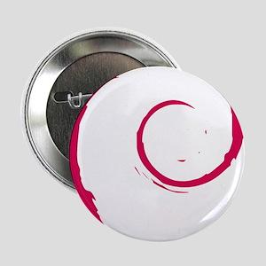 "Debian Logo 2.25"" Button"