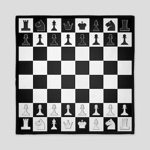 Chessboard Queen Duvet