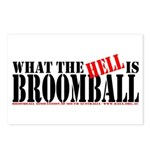 What the HELL is broomball Postcards (Package of 8