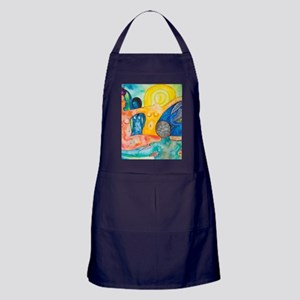 The morning an Allergory (square) Apron (dark)