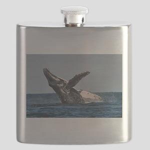 Humpback Whale 2 Flask