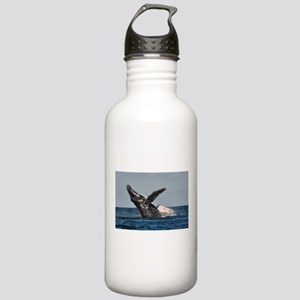 Humpback Whale 2 Water Bottle