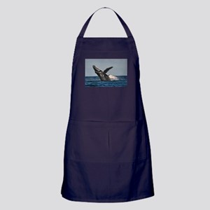 Humpback Whale 2 Apron (dark)