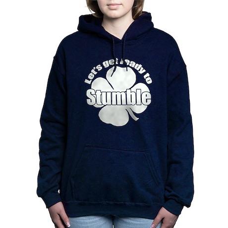 Shamrock Stumble w Hooded Sweatshirt