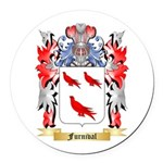 Furnival Round Car Magnet