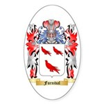Furnival Sticker (Oval 10 pk)