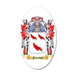 Furnival 35x21 Oval Wall Decal