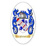 Fulton Sticker (Oval 50 pk)
