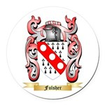 Fulsher Round Car Magnet