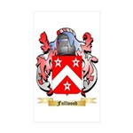 Fullwood Sticker (Rectangle 50 pk)