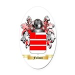 Fulloon Oval Car Magnet