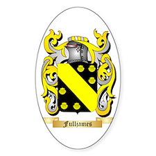 Fulljames Sticker (Oval)
