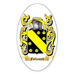 Fulljames Sticker (Oval 50 pk)