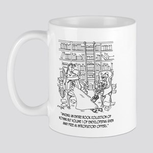 Hundreds of Volume 1 Encyclopedias Mug