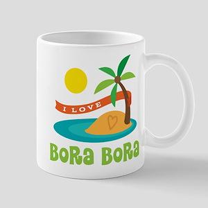 I Love Bora Bora Mug