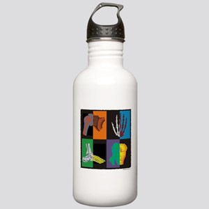 joints, square multicolor Water Bottle
