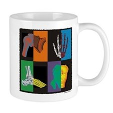 joints, square multicolor Mugs
