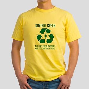 Strk3 Soylent Green Yellow T-Shirt