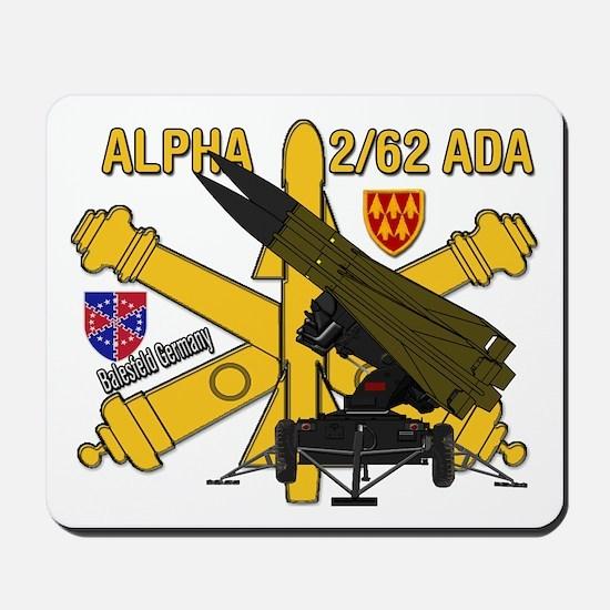Alpha 2/62 Ada Mousepad