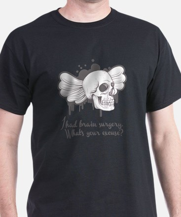 I Had Brain Surgery - Grey T-Shirt
