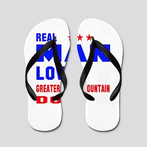 Real Man Love Greater Swiss Mountain Do Flip Flops