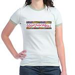 Cubicle Sweet Cubicle Jr. Ringer T-Shirt