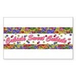 Cubicle Sweet Cubicle Rectangle Sticker
