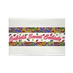 Cubicle Sweet Cubicle Rectangle Magnet (100 pack)