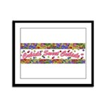 Cubicle Sweet Cubicle Framed Panel Print