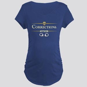 Corrections Officer Maternity T-Shirt