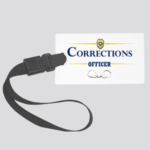 Corrections Officer Luggage Tag