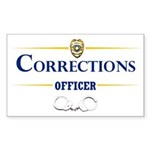 Corrections Officer Sticker