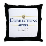 Corrections Officer Throw Pillow