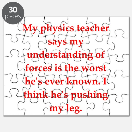physics joke Puzzle