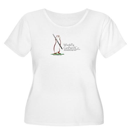 Whistlepig Women'S Plus Size Scoop Neck T-Shirt