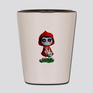 Spooky Red Riding Hood Shot Glass