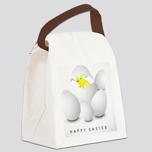 Easter Chic  Canvas Lunch Bag