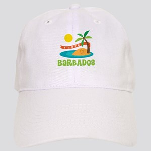 I Love Barbados Cap