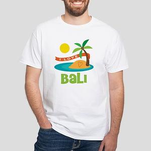 I Love Bali White T-Shirt