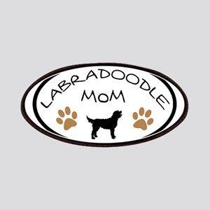 Labradoodle Mom Oval Patches