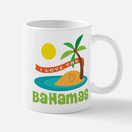 I Love The Bahamas Mug